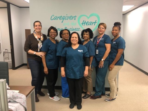 Homewatc CareGivers of Houston Care Team