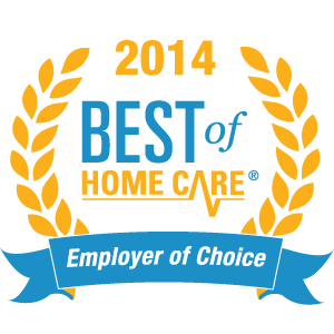 2014 Best Of Home Care Employer Of Choice