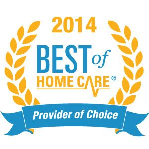 2014 Best Of Home Care Provider Of Choice