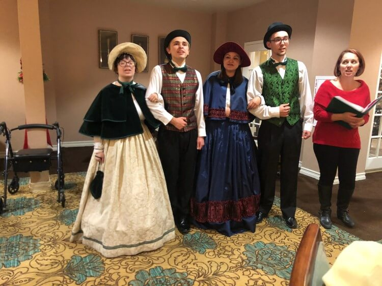 Another Christmas Carolers spreading holiday cheer