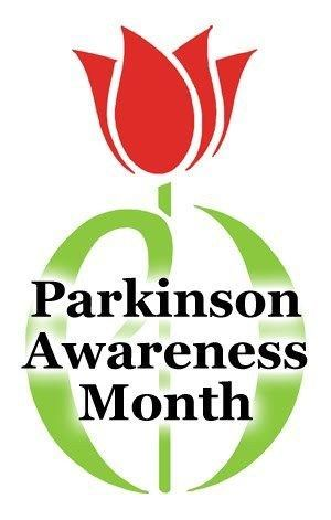 Parkinson Awareness month flower