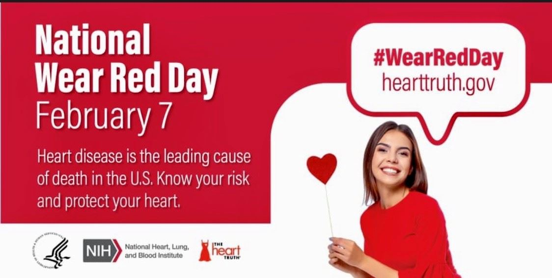 National Wear Red Day Flyer
