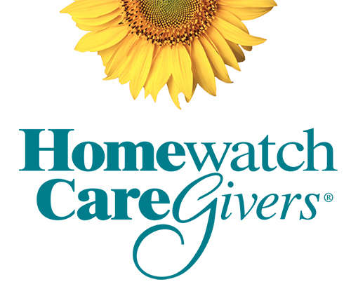 Homewatch CareGivers Logo With Sunflower